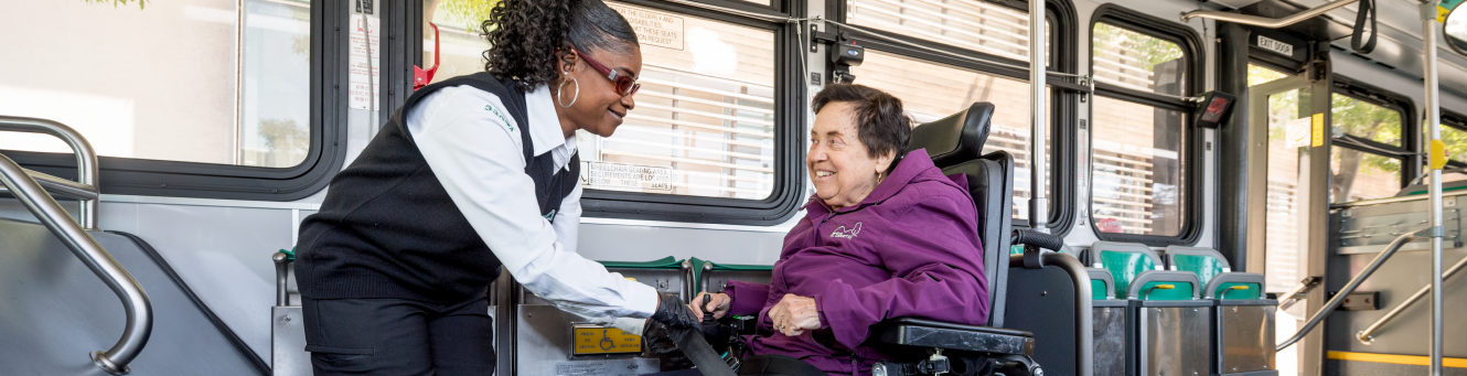 Senior and disabled transportation program