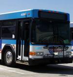 side of AC transit bus