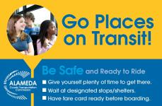 banner for the student transit pass pilot