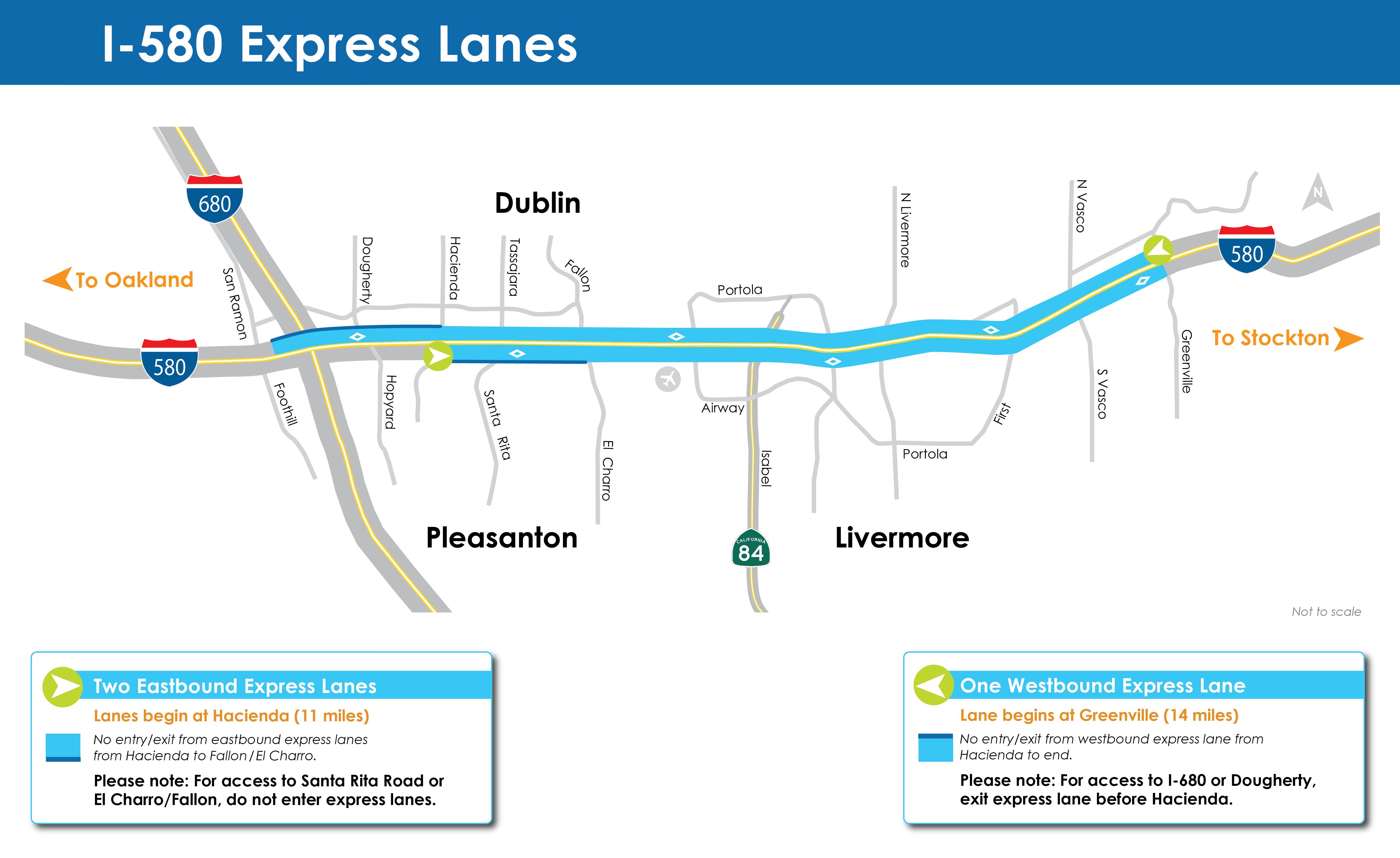 Express Lane California >> I 580 Express Lanes Alameda Ctc