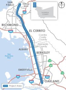 SPA Corridor Project Map