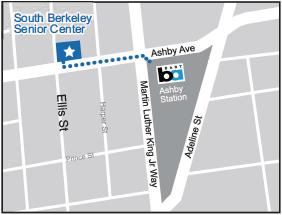 I80 Ashby BART station map