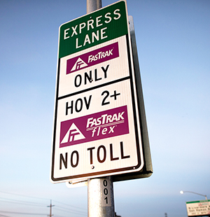 Traffic Advisory: Express Lanes Open to All During COVID-19 Pandemic