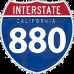 I-880 shield signage.