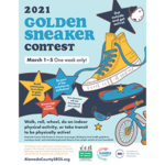 2021 Golden Sneaker Contest poster
