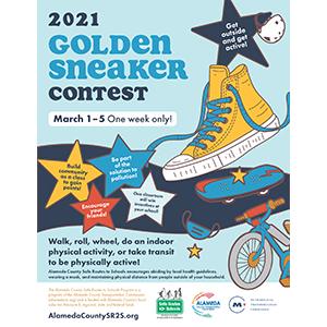 A Virtual 2021 Annual Golden Sneaker Contest