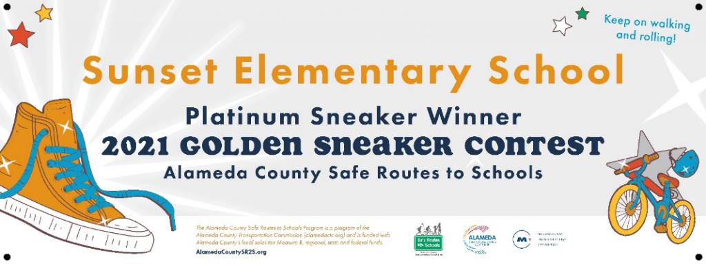 2021 Golden Sneaker Contest Platinum Sneaker Award Winner banner