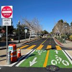 Measure B-funded Doyle Street Quick-Build Project in Emeryville