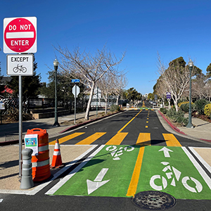 Emeryville's Doyle Street Bike/Ped Project – A COVID-19 Quick-Build Rapid Response Success