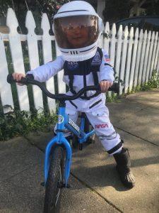 Bike to the Moon Astronaut