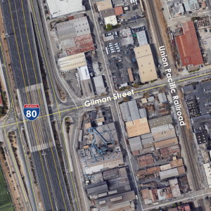 I-80/Gilman Street Interchange Improvement project location